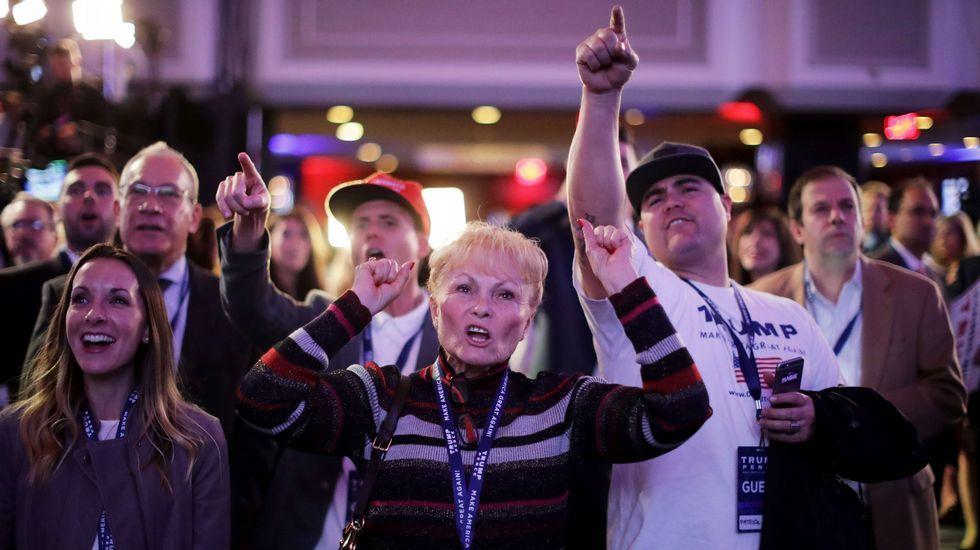 Alegría entre los republicanos.