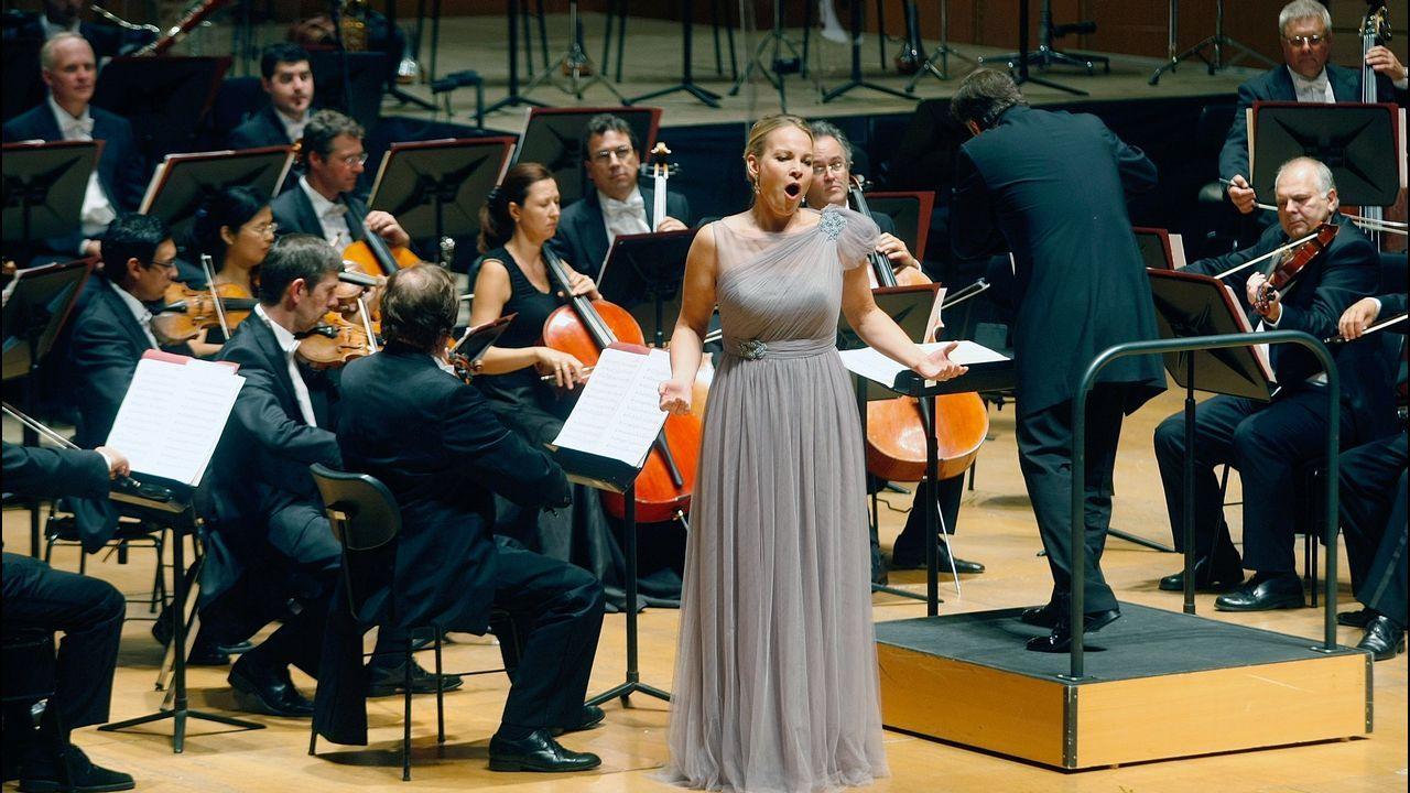 Garanca, en la actuación que celebraba el 60 aniversario de Amigos de la Ópera