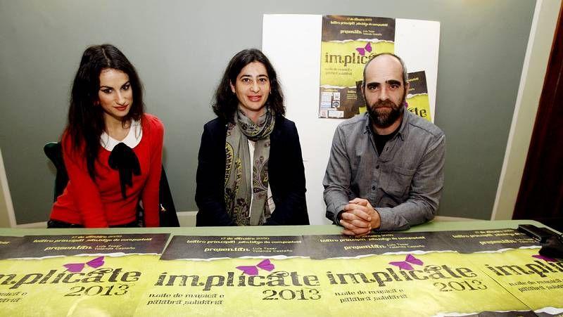 María Reimóndez y Yolanda Castaño presentaron la novena edición de la gala solidaria.