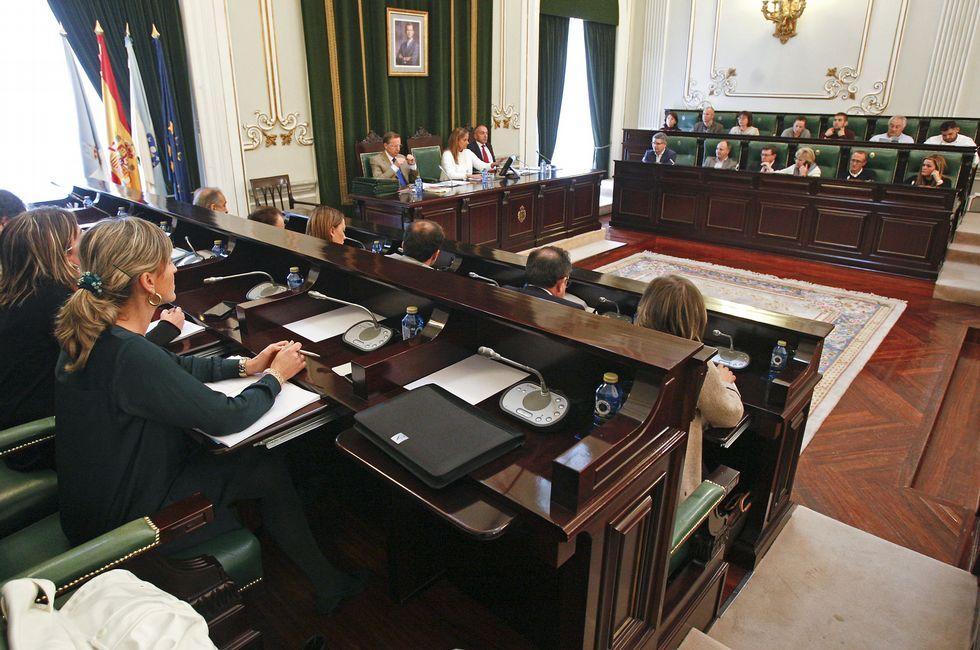 Los presupuestos de la Diputación se someterán al pleno en la sesión de este mes.