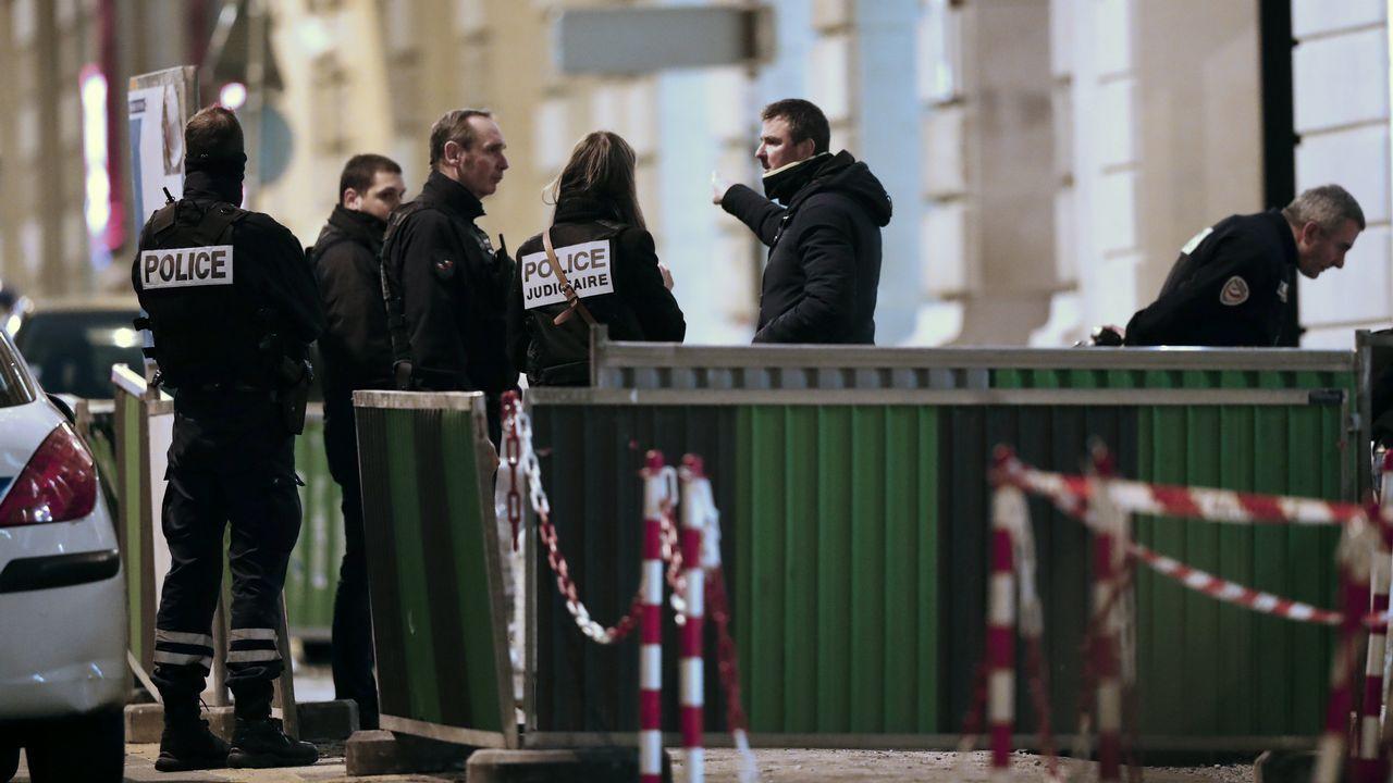 París en alerta por la crecida del Sena.Hotel Ritz en París