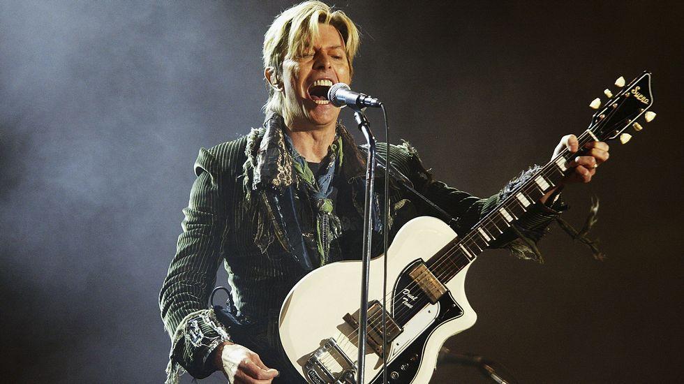 La vida de David Bowie en imágenes.David Bowie había cumplido 69 años el pasado viernes 8 de enero.