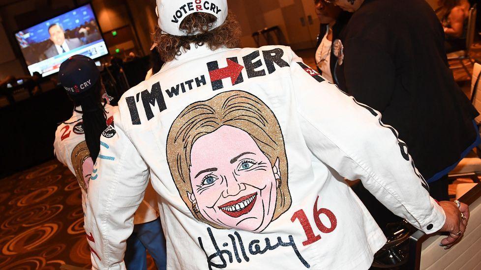 Seguidora de Hillary Clinton.
