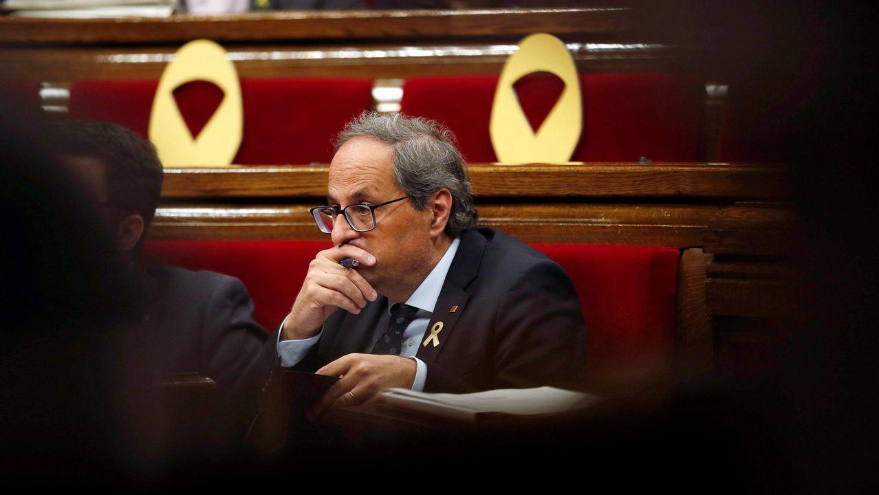 Una diputada del PP a Rufián: «No me guiñes el ojo, imbécil».Sesión de control al Gobierno en el Senado