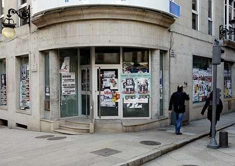 Antigua oficina de NCG, cerrada en la reestructuración.