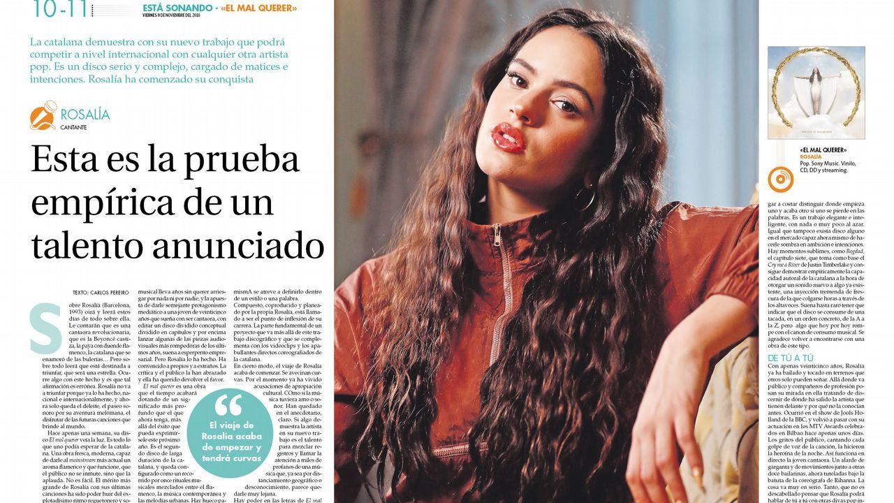Los emigrantes recogen el premio Ourensanía.Elisa González, protagonista del reportaje, recogió el premio en nombre de Begoña R. Sotelino