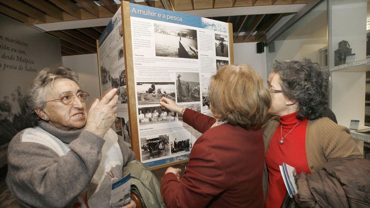 La Costa da Morte en 10 museos.Exposición en el Museo de Man