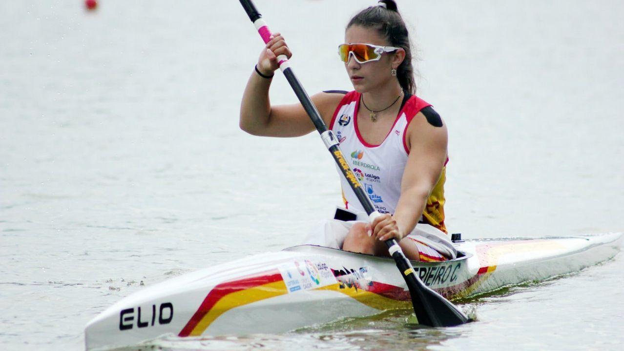Deportistas gallegos con aspiraciones de ir a los Juegos Olímpicos de Tokio 2020.Fredi Bea fue inhabilitado por seis meses por la Federación Española de Piragüismo