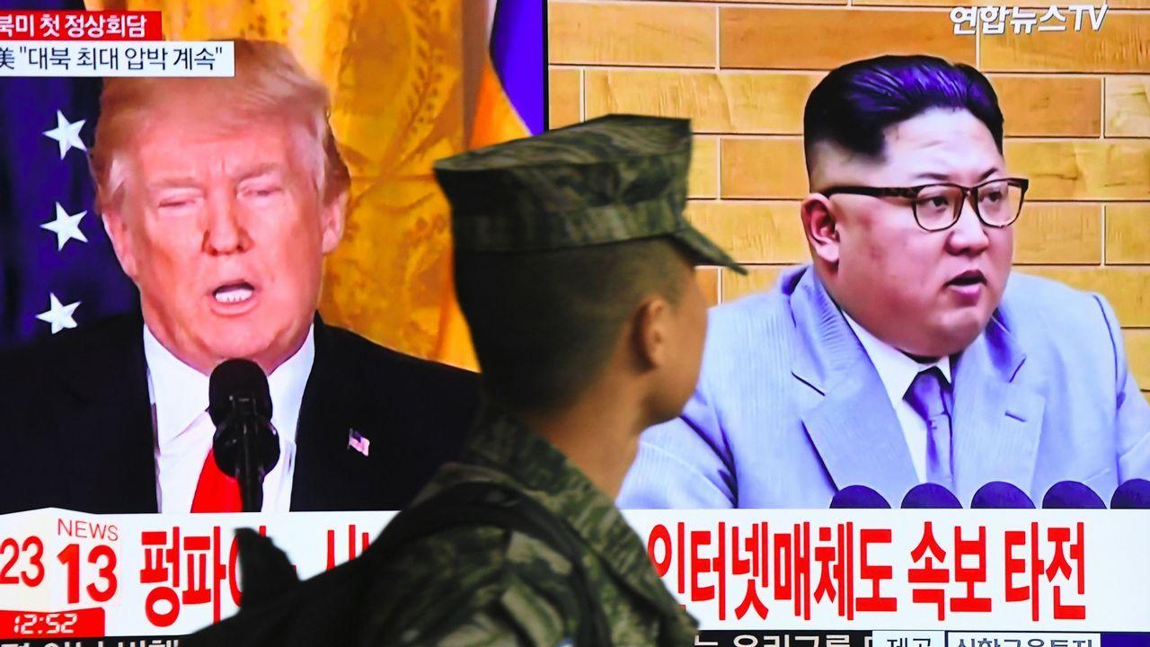 Kim Jong-Un realiza una histórica visita no oficial a China.Kim Jong-Un y Donald Trump