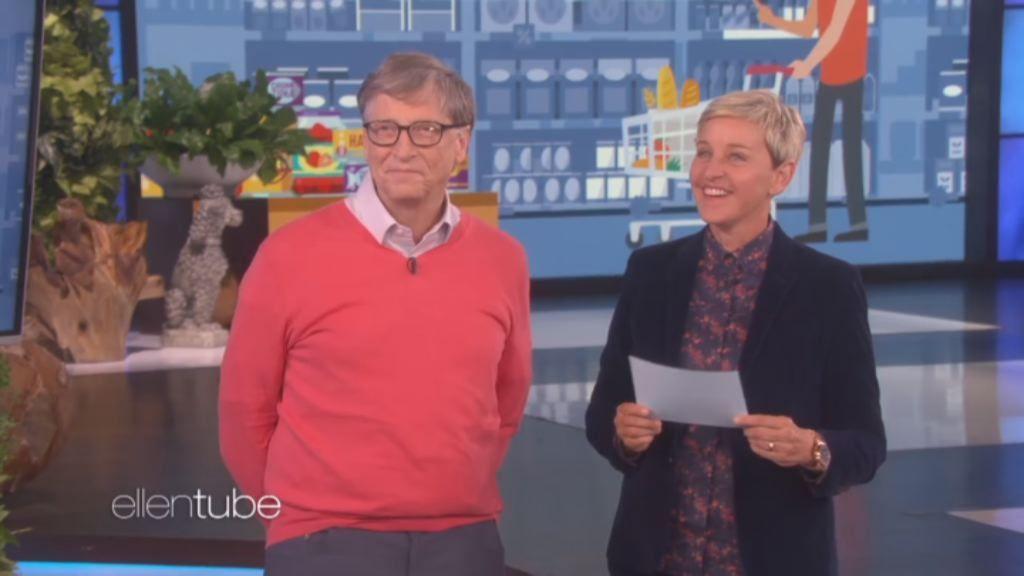 El «precio justo» al que Ellen Degeneres sometió a Bill Gates.