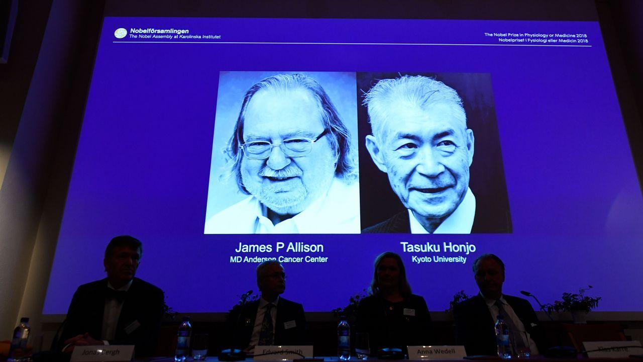 El vídeo humorístico, ¿y sexista?, que pudo costar un Nobel.Tasuku Honjo y James P. Allison estudiaron dos proteínas presentes en las células T.