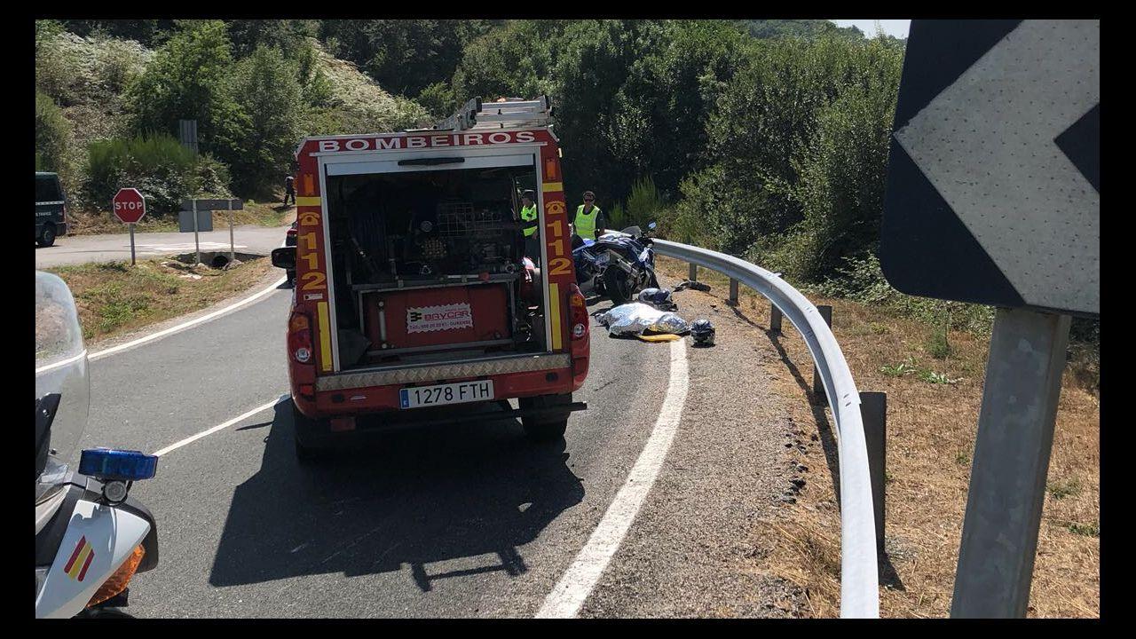 El fuego se ceba con Ourense.Agesga denunció que los GES hacen muchas labores impropias