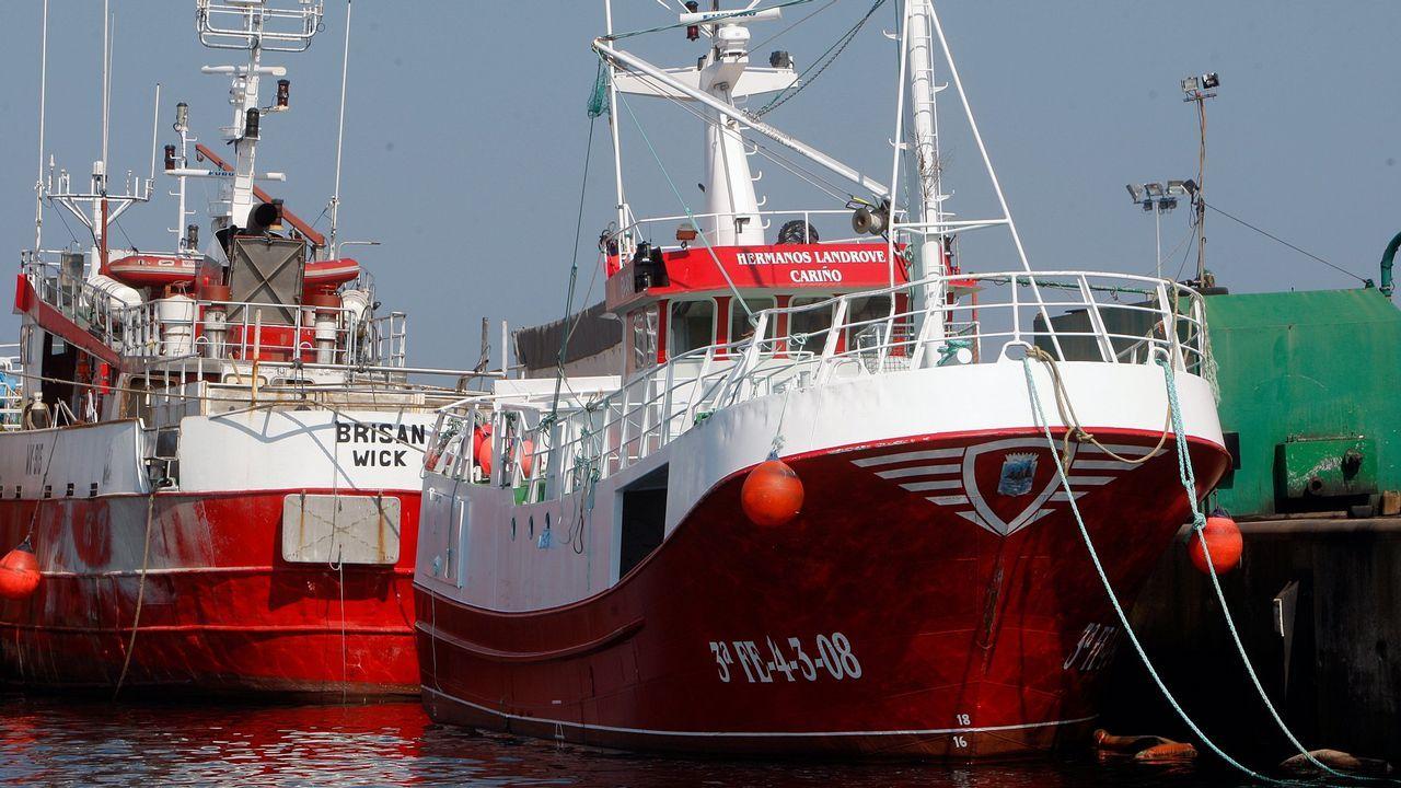 El pesquero Hermanos Landrove, en 2009