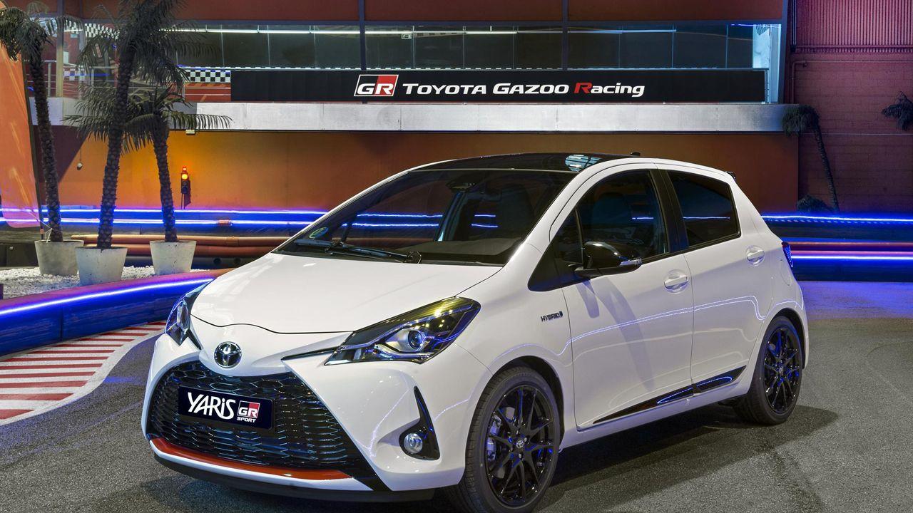 El nuevo modelo GR-Sport del Toyota Yaris