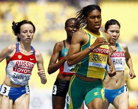 <span lang= es-es >Señalada</span>. El testimonio de Mariya Savinova, campeona olímpica en los Juegos Olímpicos de Londres hace dos años, es uno de los más llamativos del reportaje.