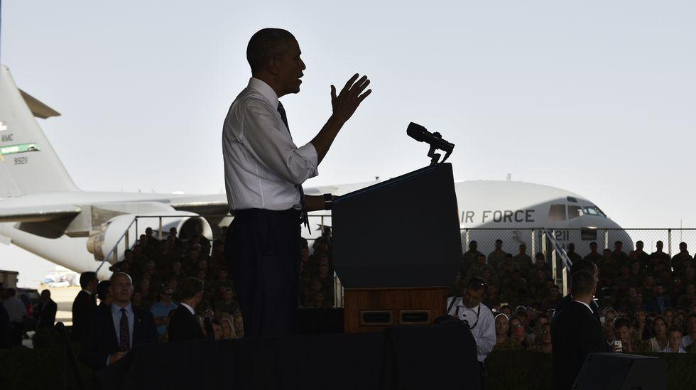 La visita de Obama a España en imágenes.