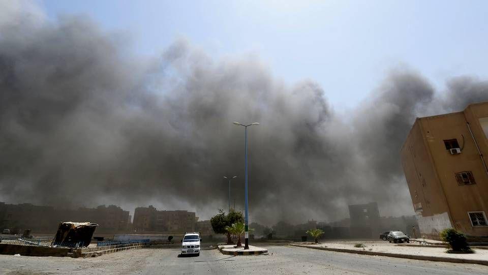 La ciudad de Raqqa fue una de las atacadas por la aviación de Al-Assad