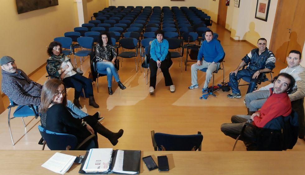 Tiroteo en el hospital de Ourense.Los participantes en el grupo de ayuda mutua se mantienen en contacto permanente.