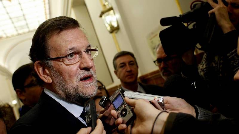 Rajoy: «Quiero dar las gracias a los españoles»