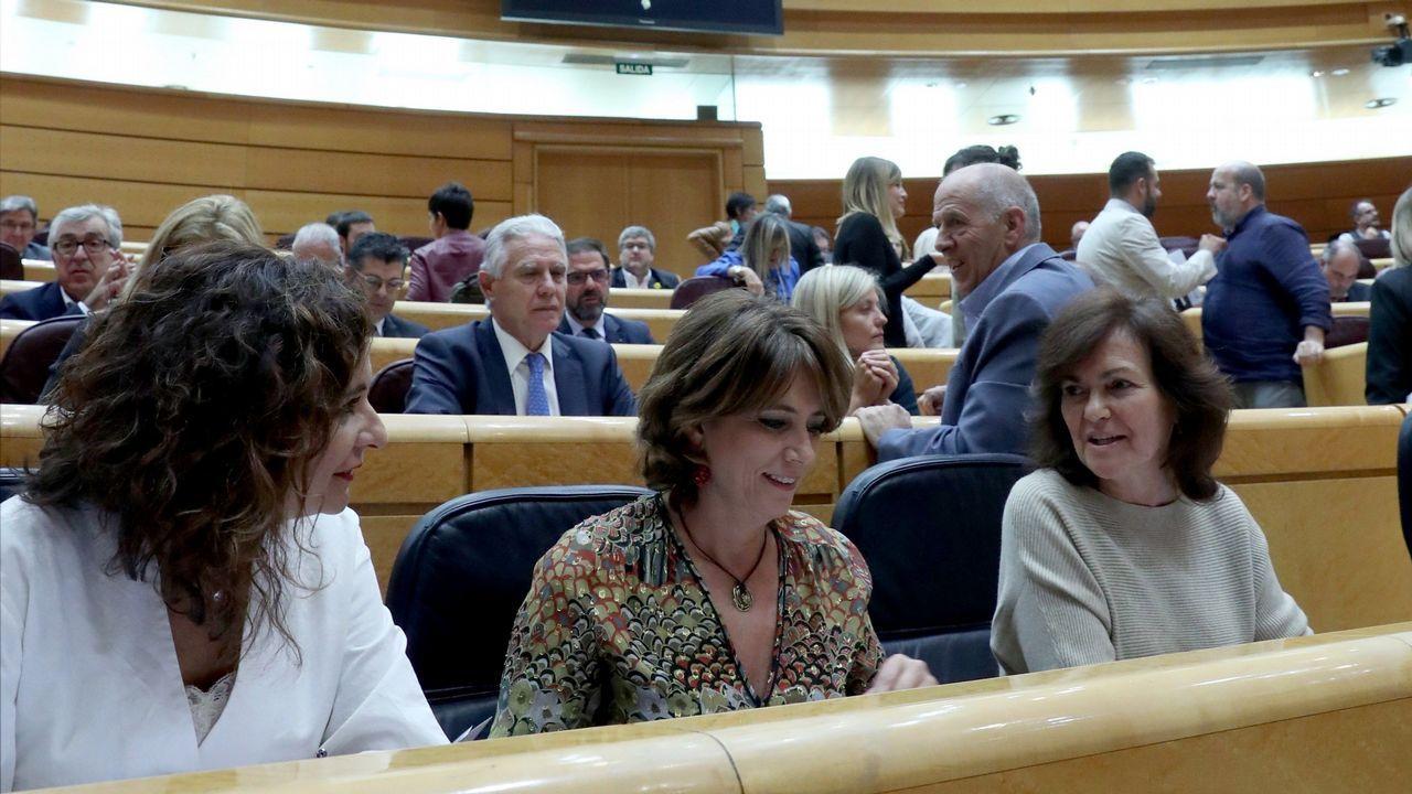 En directo: el Gobierno explica el pacto presupuestario con Podemos.Sesión de control al Gobierno en el Senado