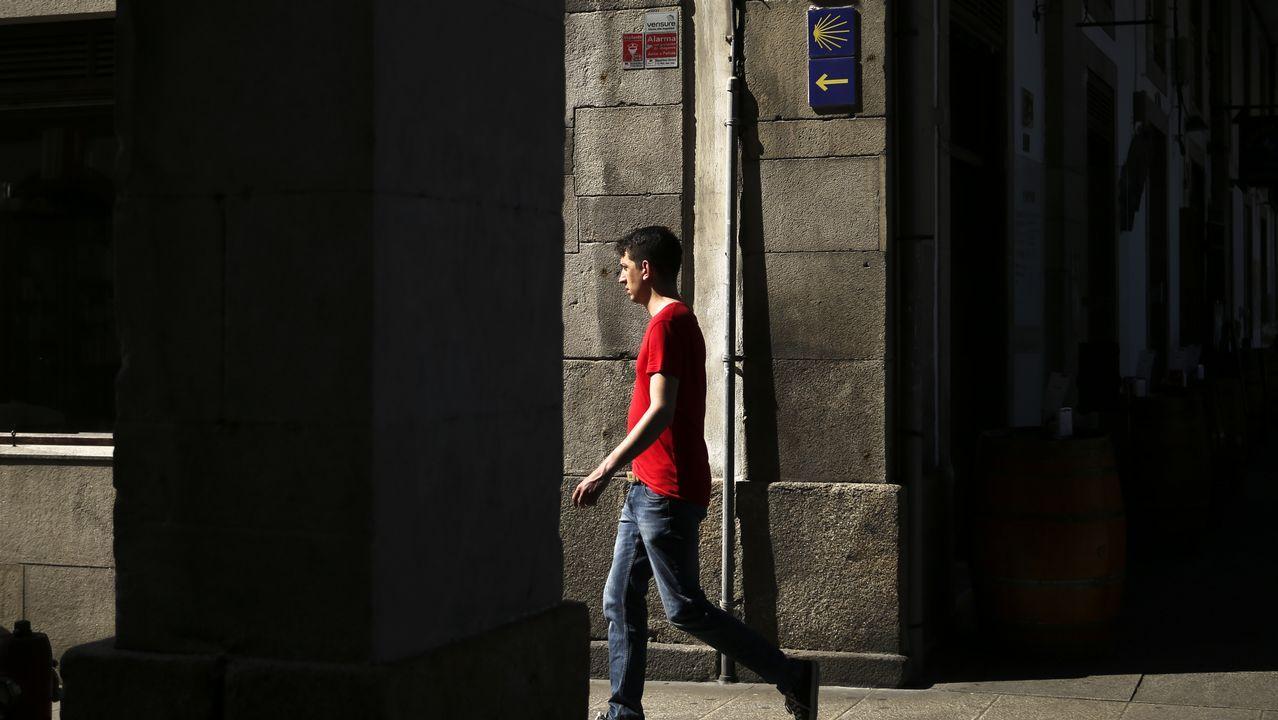 Todas las flechas llevan a Santiago.Salida de la etapa 8: Frómista-Terradillos de los Templarios
