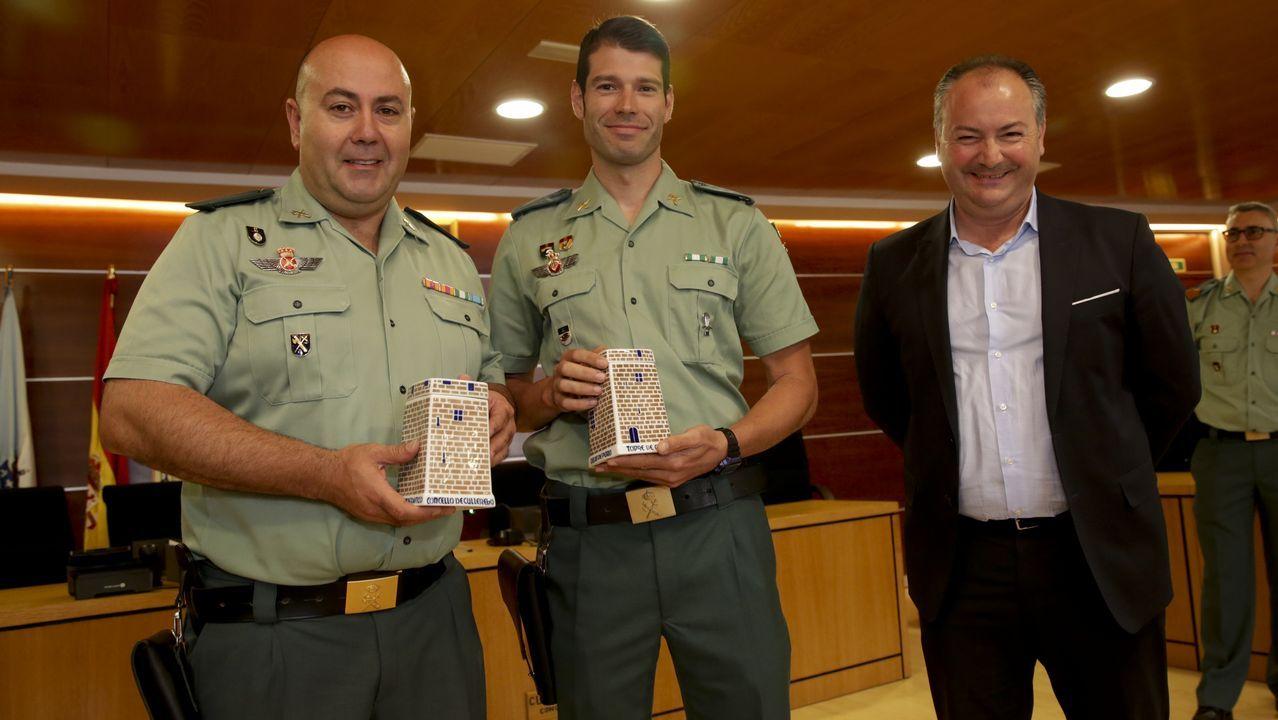 Premio en Culleredo para un trabajo policial extraordinario.VII Carrera por la Ría de O Burgo