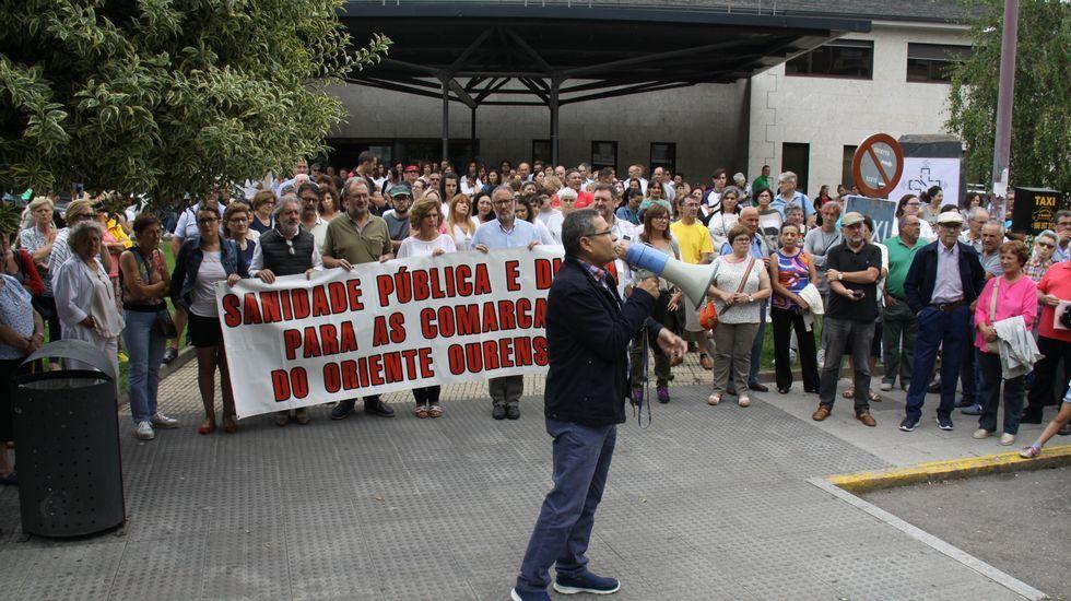 El miércoles pasado hubo una primera concentración en O Barco