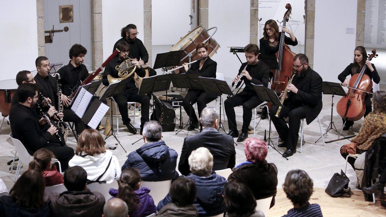 Lucus Ensemble, no Vello Cárcere para celebrar os 17 anos da Muralla como Patrimonio da Humanidade