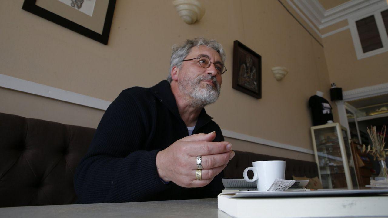Manuel Rivas presentará o seu poemario en Dublín este xoves día 14