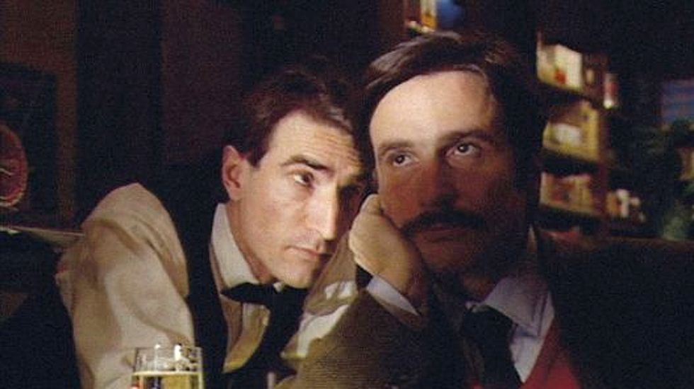 Fotograma de «Grandeur et décadence d'un petit commerce de cinema», de Jean-Luc Godard