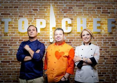 Ángel León, Alberto Chicote y Susi Díaz, en «Top Chef».