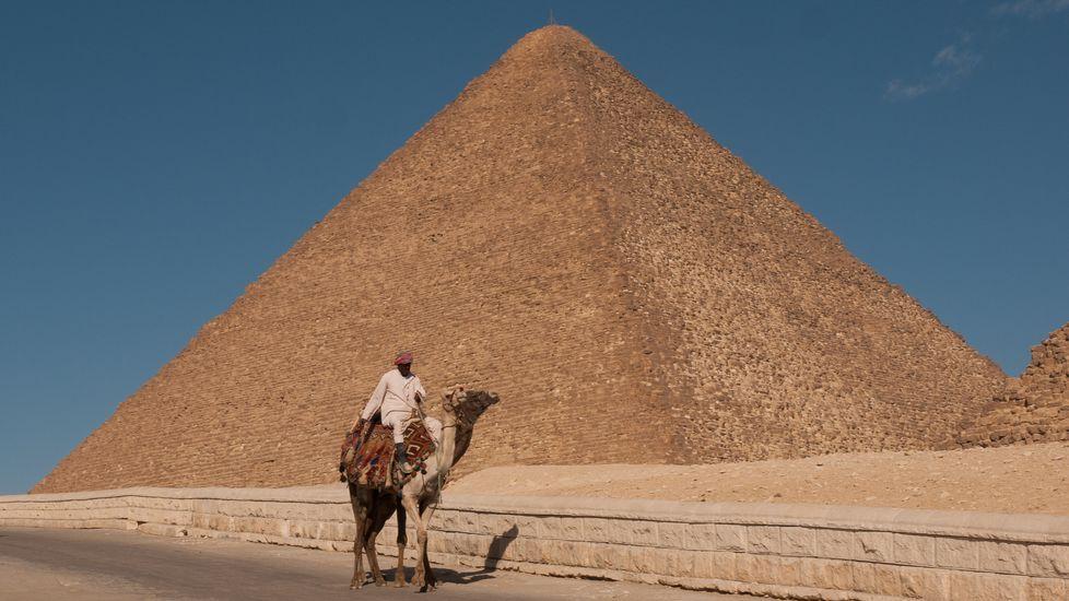 .A gran pirámide de Keops