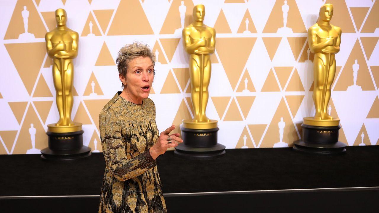.Frances McDormand mejor actriz por «Tes anuncios en las afueras»