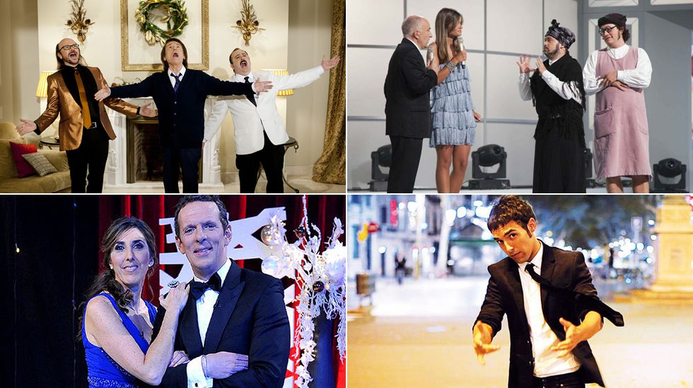 Pedroche.Anne Igartiburu y Ramón García darán las campanadas en La 1 de TVE.