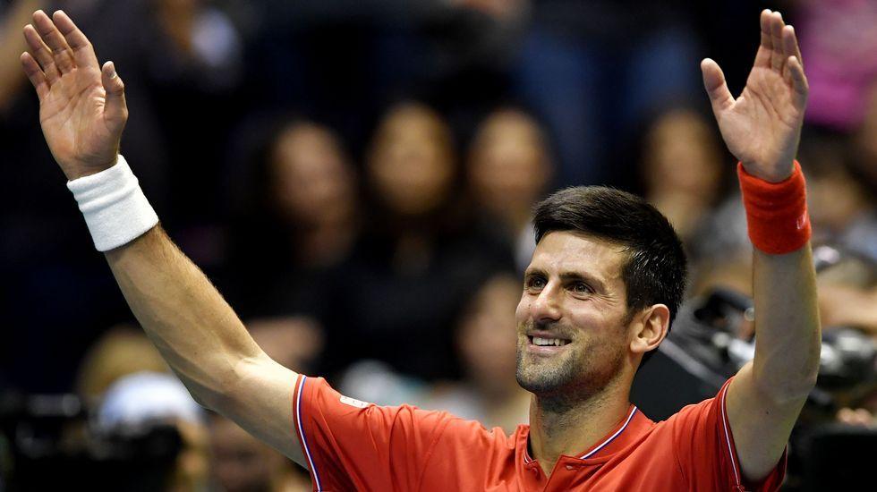 Djokovic: «Sentía que necesitaba algunos cambios y afrontar las cosas de forma diferente».Pablo Carreño