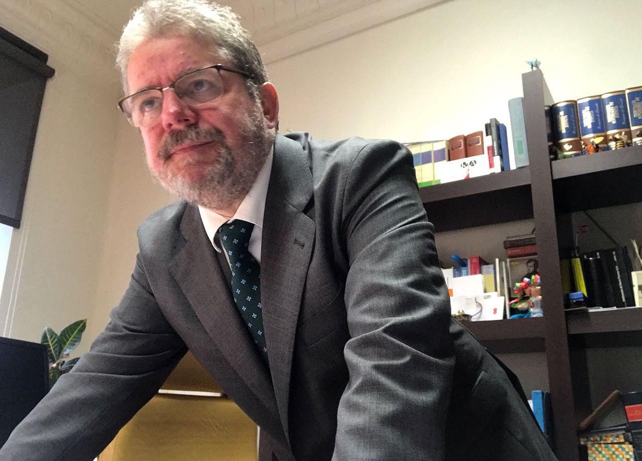 El abogado Eladio Rico