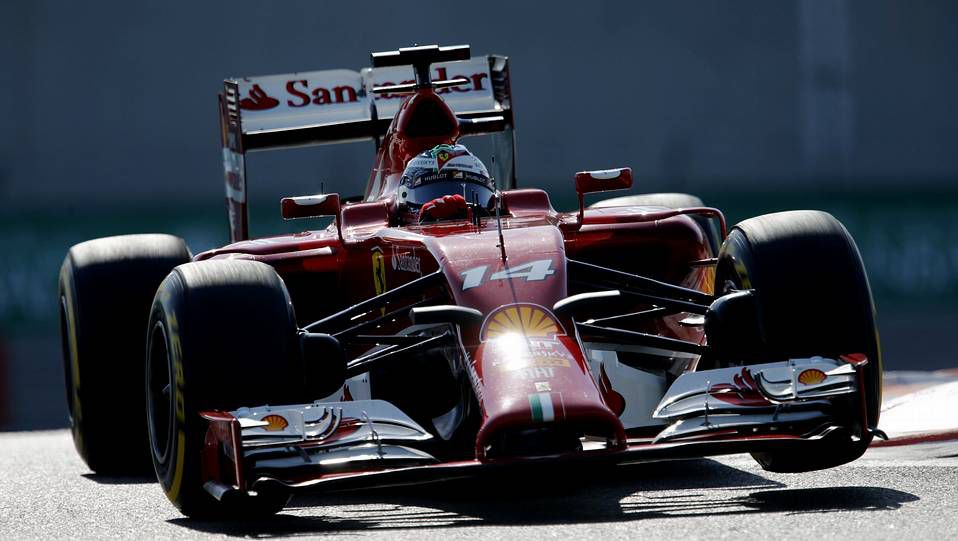 El GP de Abu Dabi, en imágenes.El McLaren de Jenson Button en Abu Dabi, la última carrera del 2014.