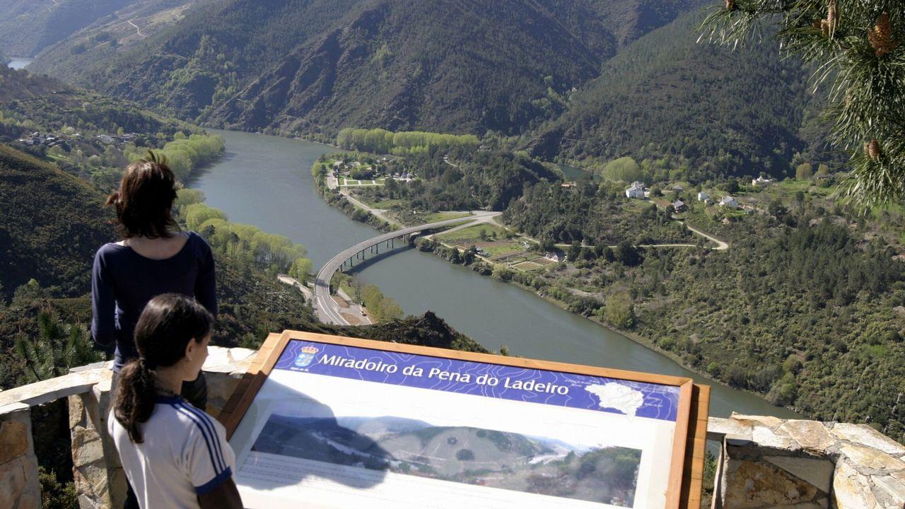 Entre Nogueira y Rairos por la ruta del oro