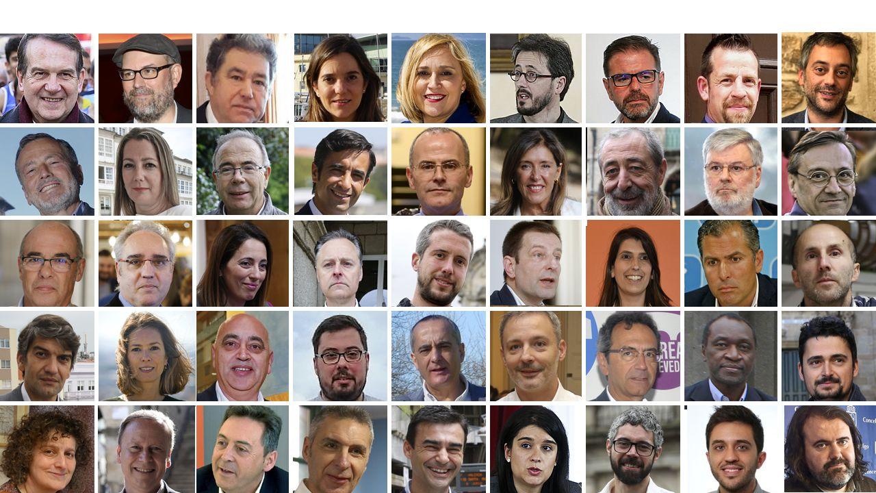 Entrevista a Carmen Moriyón, candidata de Foro a la presidencia del Principado.La alcaldesa de Madrid Manuela Carmena, vota en la mesa electoral en un colegio de la capital