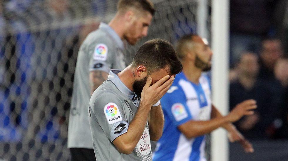 Las mejores fotos del Leganés-Deportivo.Armando Álvarez, ex futbolista del Oviedo