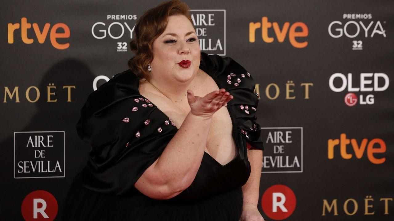 .La actriz Itziar Castro