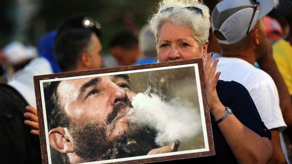 Multitudinario funeral de Fidel Castro en la plaza de la Revolución de La Habana