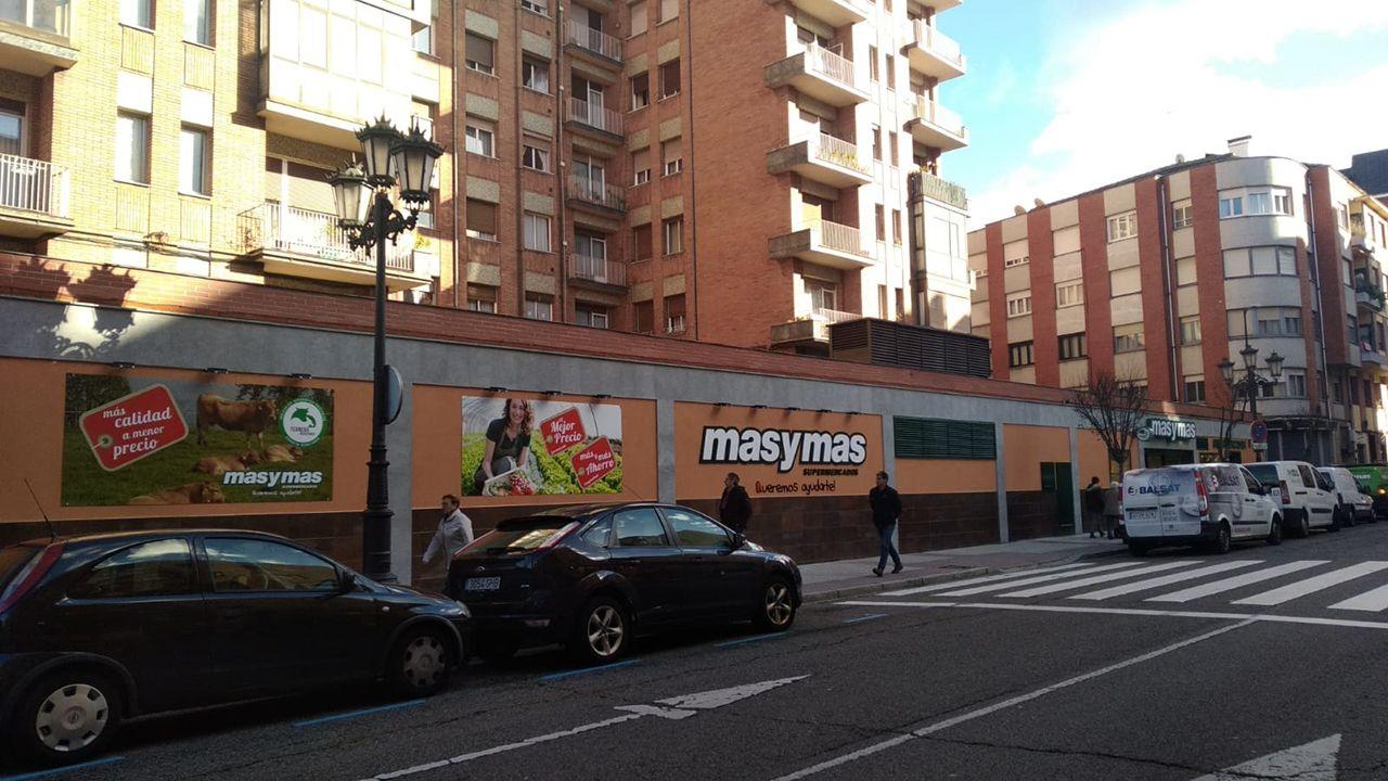 Nuevo supermercado de Masymas en Oviedo