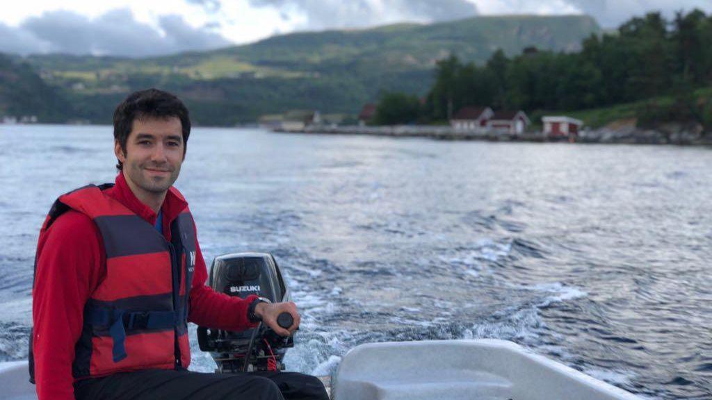 La naturaleza en estado puro, en Lugo.Manuel Pérez (Lito) en Noruega