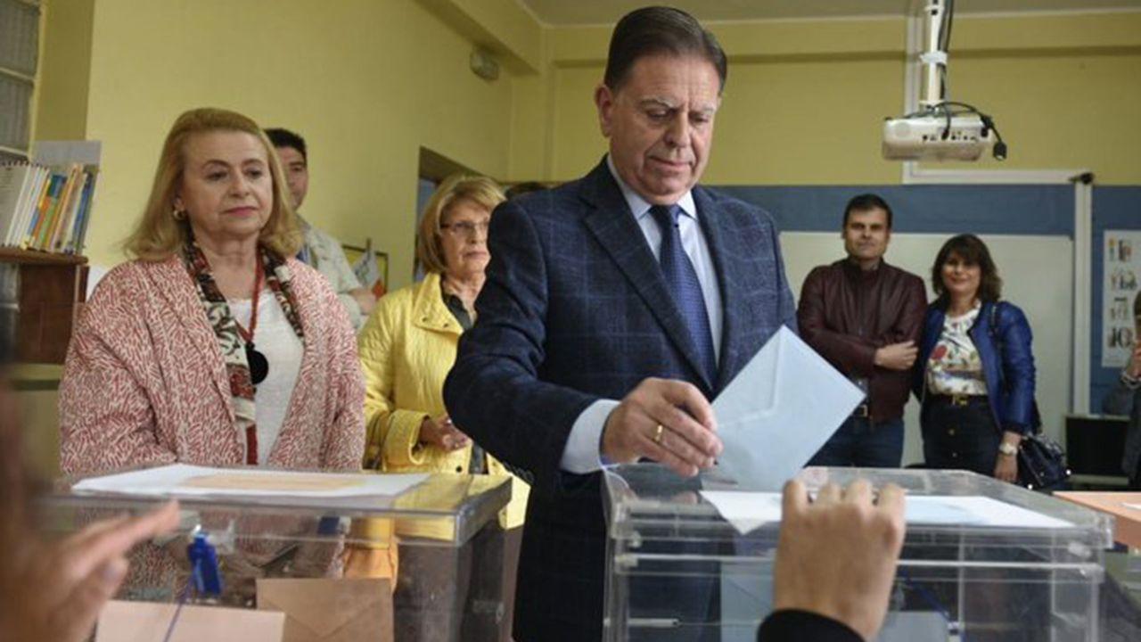 Alfredo Canteli, candidato del PP a la alcaldía