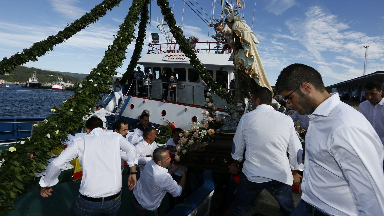 Procesión marítima de Celeiro.