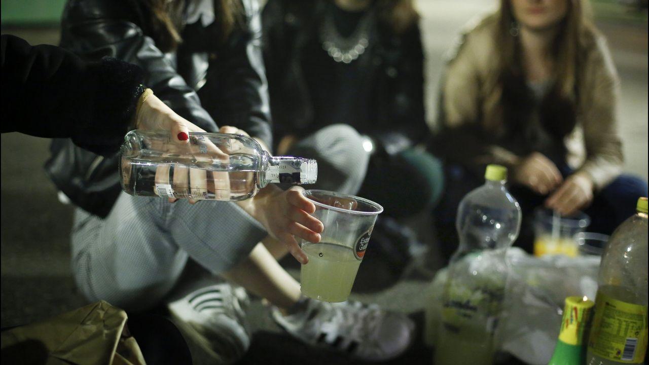 Los padres de menores que beban alcohol serán multados