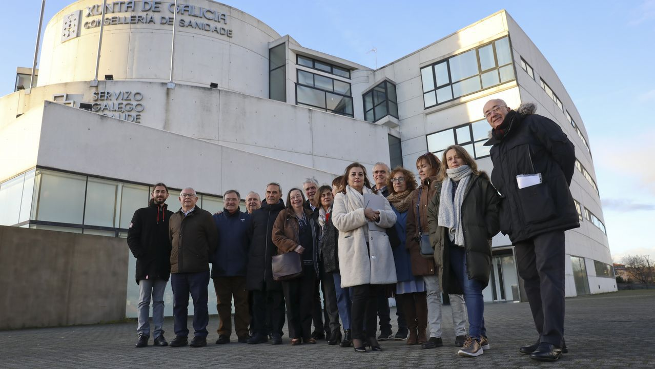 Cae una red que introducía pasta de coca por Marín para procesarla en un laboratorio en Valencia.Imágenes de la manifestación del pasado 27 de diciembre