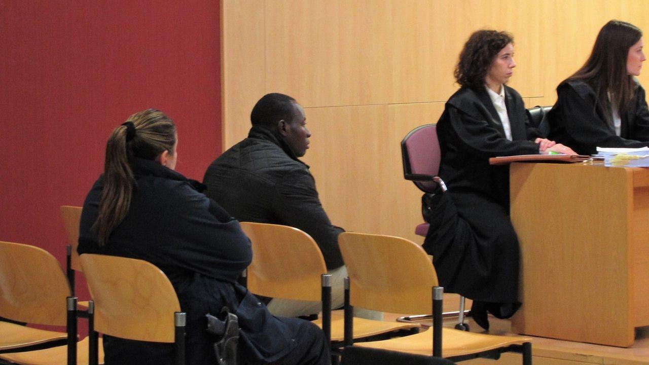 Abdou Ndiaye, más conocido como Makelele, en el jucio por el homicidio de Sonia Meléndez Mitre