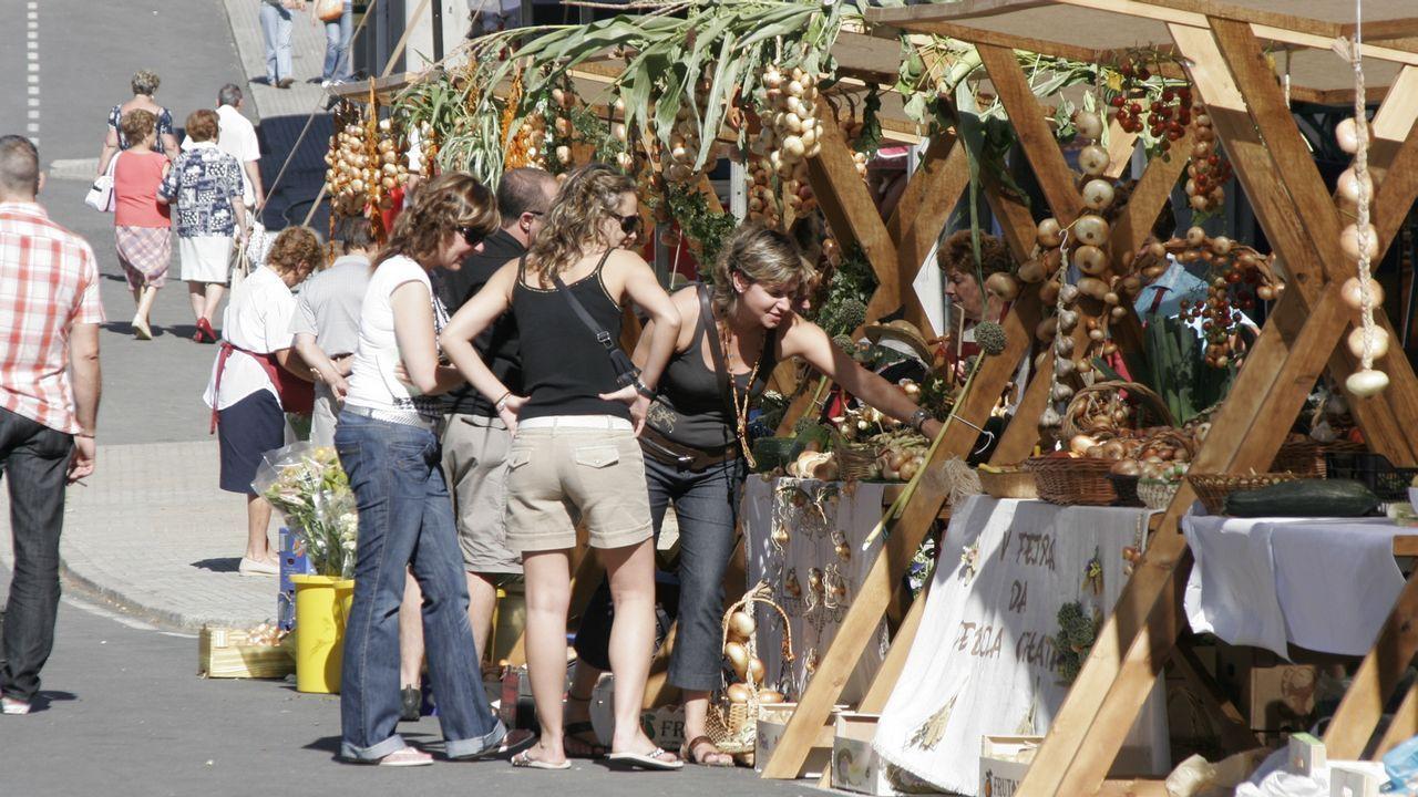 La segunda Feira da Horticultura de A Laracha, en imágenes
